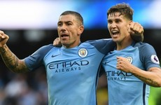 'Kolarov display one of the best I have seen at centre-back'