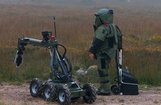 Gardaí call in bomb disposal team after improvised explosive device found in Leixlip
