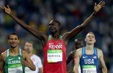 800m champion Rudisha admits doping is a 'big problem' in Kenya