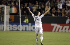 WATCH: Robbie scores for LA Galaxy in Indonesia