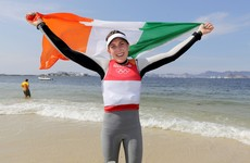 She's done it! Annalise Murphy claims silver in women's laser radial sailing