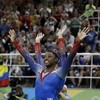 US teen gymnast Biles claims record-equalling fourth Olympic women's gold