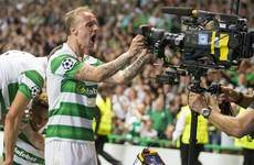 Griffiths on the double as five-star Celtic take big stride towards Champions League