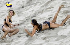 Mind trick helps Germans to beach volleyball gold