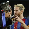Lionel Messi topped off a bravura performance with this classy finish last night