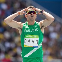 Less than the blink of an eye! Sensational Barr finishes fourth in 400m hurdles final