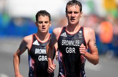 Gold and silver for Brownlee brothers in men's triathlon as Keane finishes in 40th