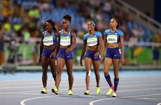 A league of their own: US women cruise to 4x100m final in bizarre relay re-run