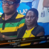 Usain Bolt's mam didn't look all that impressed with another Olympic gold last night