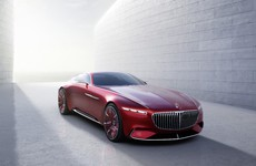 Behold the Vision Mercedes-Maybach 6