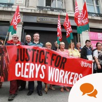 If politicians are really interested in 'new politics' they should work to secure justice for the Clerys workers