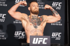 McGregor weighs in at 168lbs for UFC 202, Diaz tips the scales heavier