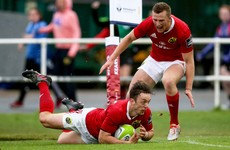 Superb Sweetnam helps Munster to get Erasmus era off to winning start