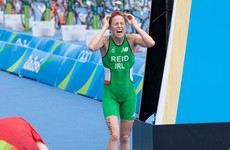 Aileen Reid finishes 21st in the Olympic triathlon