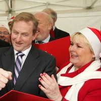 In pictures: Christmas tree lights turned on at Leinster House