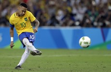 Neymar's winning penalty brings an Olympic moment for all of Brazil to savour