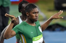 Caster Semenya cruises to women's 800m gold