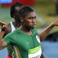 Caster Semenya cruises to women's 800m gold