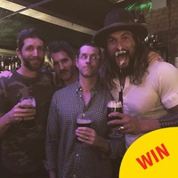 Khal Drogo (AKA Jason Momoa) was in Ireland this weekend, sculling pints of Guinness