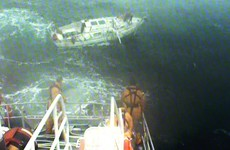 Lone 60-year-old sailor rescued amid storm-force conditions