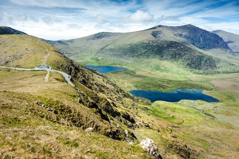 The Conor Pass in Kerry