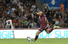 Ian Madigan thrilled with impressive Bordeaux debut