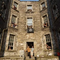 """""""This makes us homeless"""" - Tough choices lie ahead for squatters in abandoned Dublin prison"""