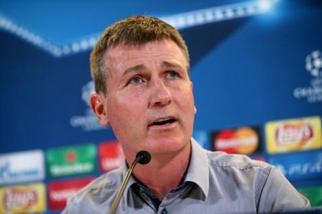 Lilywhites boss Stephen Kenny.