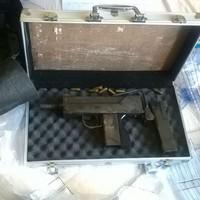 Gardaí have seized cocaine and a submachine gun in the Dublin suburb of Castleknock