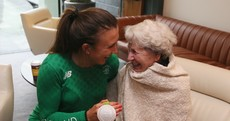 'Nan, I did it!' - Annalise Murphy got a hero's welcome as she arrived home this afternoon
