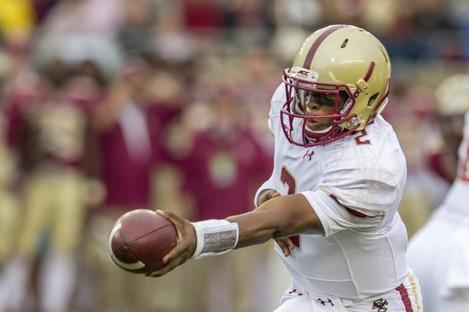 Boston College quarterback Tyler Murphy in 2014.
