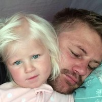 Two-year-old girl who was swept into sea with father at Newquay has died