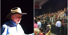 Up to 1,400 people have turned up to see a pastor who claims prayer can 'cure' gay people