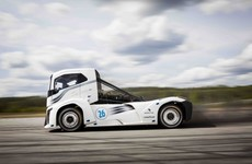 Volvo's Iron Knight sets new speed record