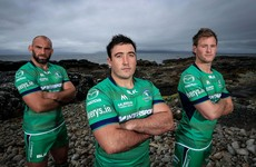'My 1st year in the academy we finished bottom': Buckley eager after missing Connacht's finest hour