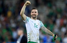 Irish defender Shane Duffy links up with Chris Hughton as Brighton's record signing