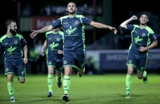 Byrne's sublime free-kick the difference as Bohs take the Dublin derby spoils