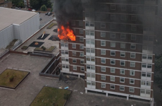 Warning over tumble dryers after London high-rise blaze