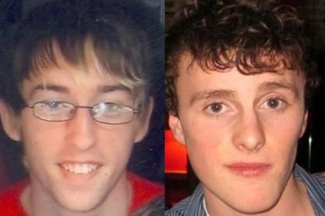 Undated images of Darren Sherlock, left, and Caolan Mulrooney.