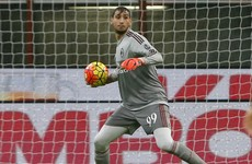 Teenager Donnarumma becomes youngest Italian to win senior call-up in over 100 years