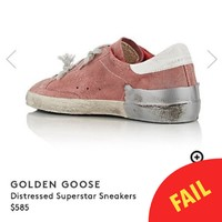 People are taking the piss out of these ridiculously expensive 'distressed' runners