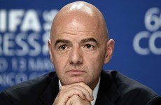 Gianni Infantino has Sepp Blatter's wine cellar removed as part of Fifa reform commitment