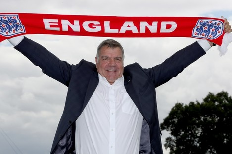 Allardyce's first game in charge of England will be the World Cup qualifier in Slovakia.