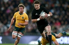Beauden Barrett re-signs with New Zealand until after 2019 World Cup