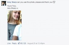 This teenager asked the police to use a nicer photo of her on Facebook after escaping jail