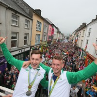 The whole of Skibbereen came out for the O'Donovan brothers' homecoming this evening