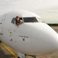 Sailing hero Annalise Murphy has airplane named after her