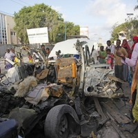 Suicide car bomb targets Somalian hotel