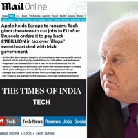 Bite size: Here's how the world reacted to the Apple tax story