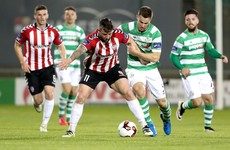 Patterson strike sinks Hoops in Tallaght and strengthens Derry grip on third spot